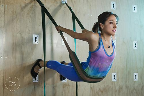 AeroPilates y Wall Pilates, desafiando la gravedad para tonificar y fortalecer el cuerpo.